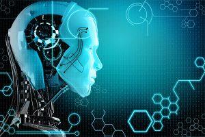 19113483 - computer robot background